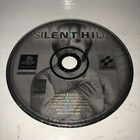 TESTED Silent Hill Sony PlayStation Game PS1, Black Label Disc ONLY Horror Fun