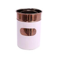 Copper White Stainless Steel Kitchen Utensil Holder Cutlery Organizer Storage