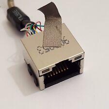 HP EliteBook 8730w LAN Netzwerk Port Buchse mit Kabel