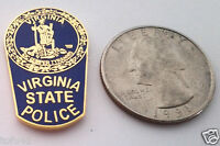 VIRGINIA STATE POLICE Law Enforcement Hat Pin P02546 EE