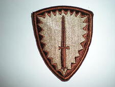 US ARMY SPECIAL OPERATIONS COMMAND EUROPE SOCEUR PATCH - DESERT