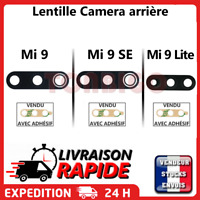 Vitre arrière caméra XIAOMI Mi 9 Mi9 SE Lite Lentille appareil photo Lens verre
