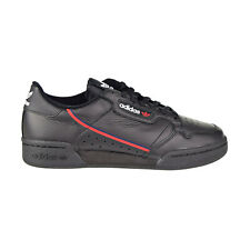 adidas CONTINENTAL 80 Shoes Leather Black Red Navy Mens Size 8 US B41672