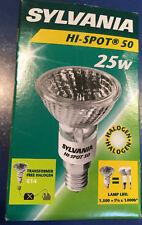 Sylvania Lampe halogène Hi-Spot 50 230V 25W E14 25° PAR16 blanc chaud