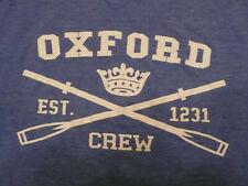 Oxford University Rowing  Team Crew Large Blue T-shirt