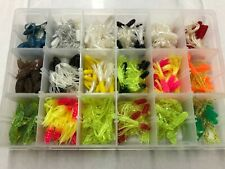 252 Piece Crappie Assortment, Solid Head Kit + Plano box, Usa Fishing Lures Jigs