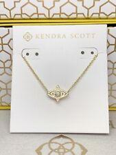 New Kendra Scott Caleb Gold Pendant Necklace