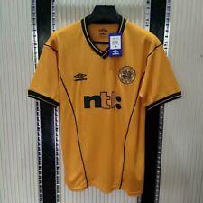 FC Celtic Away Retro Yellow Shirt 2000/01/02