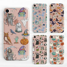 Halloween Collection Designs Soft Silicone TPU Rubber Case iPhone 5 6 S 7 8 Plus