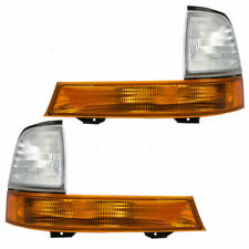 Fit 1998 1999 2000 FORD RANGER CORNER PARK LAMP RIGHT & LEFT PAIR SET