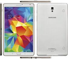 """16GB SAMSUNG ANDROID TABLET SM-T705 8.4"""" 3GB de memoria DUAL Cámara web Altavoz"""