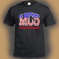MC5  Rock Band Legend Logo Men's Black T-Shirt Size S-3XL