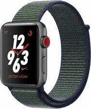 Reloj de Apple Nike + S3 42mm Gris espacial al MID FOG Nike Sport bucle (Gps + Celular)