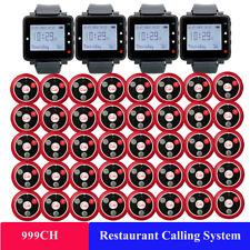 Retekess Restaurant Cafe Gäste-Service Rufrufsystem 4*Wachempfänger+40*Ruftasten
