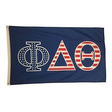 Phi Delta Theta USA Letter Flag 3' x 5' Phi Delt
