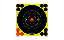 New! Birchwood Casey Shoot-N-C 6-Inch Bull's-Eye Target, 12 Targets 34512