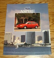 Original 1996 Ford Aspire Foldout Sales Brochure 96