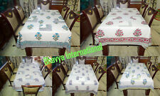 10Pc Wholesale Lot Table Cover Printed Dinning Cover Hand-block Table Cloths