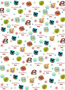 Personalised Bing Christmas Wrapping Paper