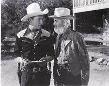 "Roy Rogers  & George Gabby Hayes   8""X10"" Black & White RR-11"