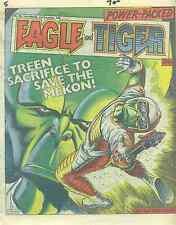 EAGLE & TIGER #196 British comic book December 21, 1985 Dan Dare VG+