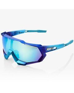 100% Glasses Speedtrap Matte Metallic Into The Fade - Blue Topaz Multilayer Mir