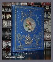 New Peter Pan by Barrie Illustrated Leather Sealed Bound Collectible Hardcover