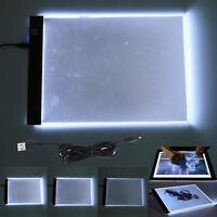 LED A4 K2 Leuchttisch Lichttisch Leuchtplatte Leuchtpult Leuchttablett Handwerk