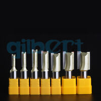 "1/2"" 1/4""  Straight Bit Router Bits End Mill Grooving Milling Cutter Woodworking"