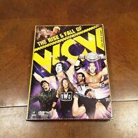 The Rise & Fall of WCW 2009 DVD BOX SET HULK HOGAN RIC FLAIR FAST SHIPPING