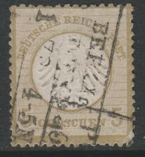 Germany - 1872, 5g Bistre (Small Shield) stamp - Used - SG 7