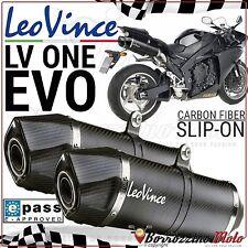 POT D'ECHAPPEMENT LEOVINCE LV ONE EVO CARBONE 8294 HOMOLOGUÉE YAMAHA YZF R1 2013