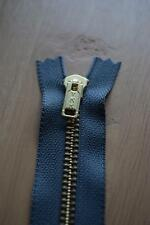 12 Pcs YKK Gray Brass Coil Zippers Tailor Sewer Craft 7 inch Crafter's Thailand