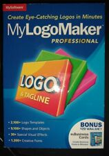 MyLogoMaker Professional  by MySoftware NEW SEALED + Bonus My Business Cards