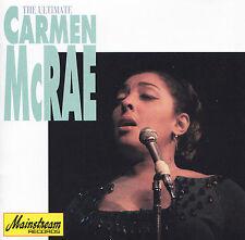 CARMEN McRAE - CD - THE ULTIMATE CARMEN McRAE