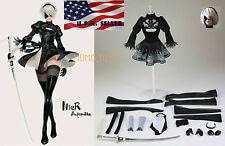 1/6 Nier Automata YoRHa No.2 Type B Head Costume Set For Phicen S10D PRE-ORDER