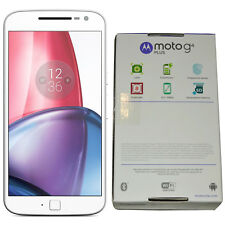 New Motorola Moto G4 Plus XT1642 16GB White Dual-SIM Factory Unlocked 4G Simfree