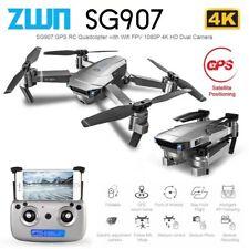 4k GPS Drone, 5G WiFi FPV Foldable Drone with 4K HD X50 Zoom Wifi Professional