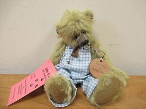 Bilbo Bears Mohair Artist Teddy Bear 'Tuppence' by Audrey Edwards