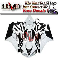Fairings For Honda CBR1000RR 2004 2005 04 ABS Fairing Kit Bodywork Black White