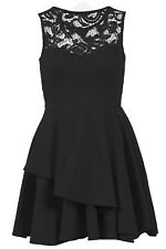 Black Skater Dress Size 8)
