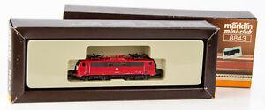 Vintage Marklin Mini-Club 8843 German Z Scale Electric Locomotive DB 111 041-0