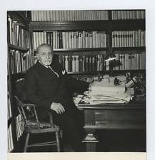 Giovanni Porzio, politico e avvocato italiano Vintage silver print Tirage arge