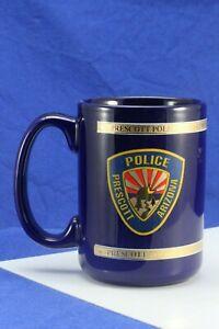 Prescott Arizona Police Department Coffee Mug.