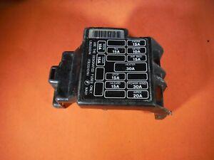 Miatamecca Used Fuse Box Lid Under Dash 90-95 Mazda Miata MX5 OEM
