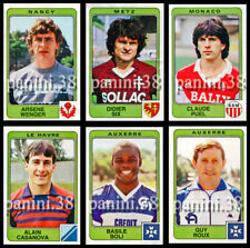 "NEW LIST !! 5 Vignettes RECUPERATION au CHOIX ""FOOTBALL 86"" stickers PANINI"