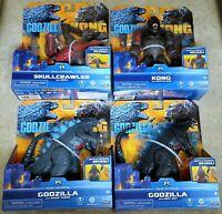 GODZILLA VS KING KONG Movie SKULLCRAWLER Monsterverse 4 Toys Playmates 2020 NEW