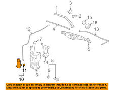 GM OEM Windshield Window Wiper-Front Washer Pump 22818728
