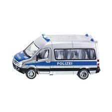 1:50 Siku Police Team Van Model - Toys 150 Tim Dc Furgone Polizia 2313 Mercedes