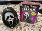 Bleeding Brains Scream Candle Open Box  SCREAM